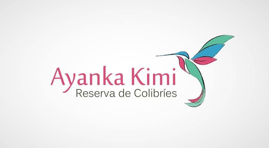 "Bài tham dự cuộc thi #15 cho Diseñar un logotipo para una reserva de Colibríes llamada ""Reserva de Colibríes Ayanka Kimi"""