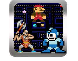 nº 7 pour Design an iOS icon for a retro gaming app par alidicera