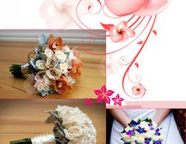 #6 para DL Colour Flyer Design for Wedding Florist por alidicera