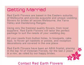 #10 for DL Colour Flyer Design for Wedding Florist by alidicera