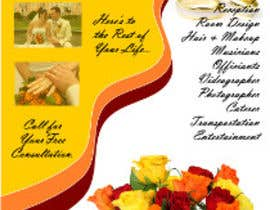 #1 para DL Colour Flyer Design for Wedding Florist por vedintl