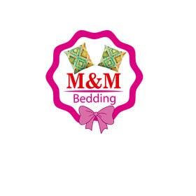 nº 24 pour Design a Logo for M&M Bedding par sgsicomunicacoes