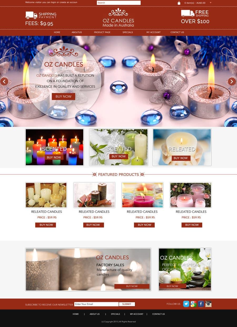 Proposition n°                                        5                                      du concours                                         Design a Skin for Existing Website