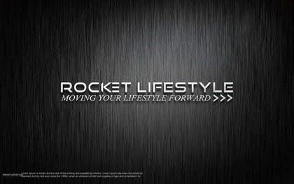 #352 for Design a Logo for Rocket Lifestyle af shitazumi