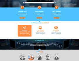 Adzibabo tarafından Design a Website Mockup for CosCis IT Technology için no 7
