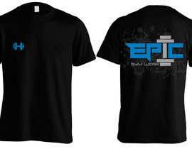 #37 para Design a T-Shirt for Fitness company por Bugz318