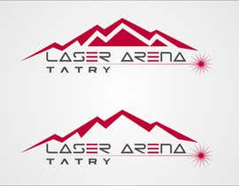#22 for Design a Logo for Laser Aréna Tatry af mille84