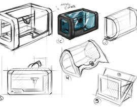 #4 for Illustrator needed for the design of a futuristic 3D Printer af andrefareis