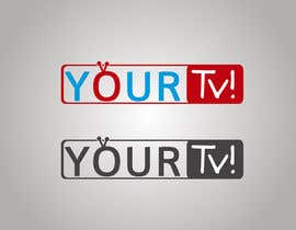 #3 para Design a logo using the word ( YOUR Tv! ) for my  new trivia Networl por DonCabrini