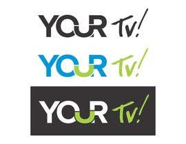 #1 untuk Design a logo using the word ( YOUR Tv! ) for my  new trivia Networl oleh screenprintart
