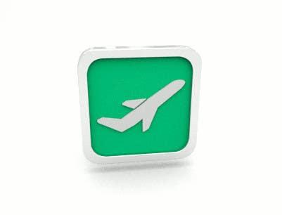 Kilpailutyö #41 kilpailussa Design Icons for travel website