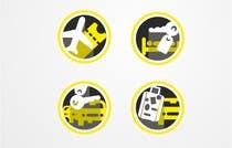 Graphic Design Kilpailutyö #14 kilpailuun Design Icons for travel website