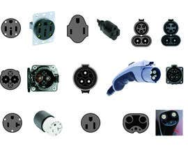 #13 for Design some Icons for Electrical Connectors af Tebraja