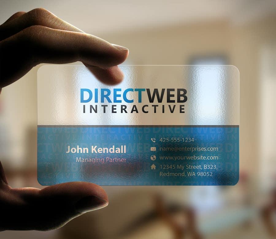 Konkurrenceindlæg #97 for Design Business Card For Marketing Agency