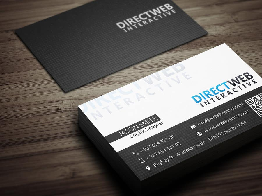 Konkurrenceindlæg #                                        47                                      for                                         Design Business Card For Marketing Agency