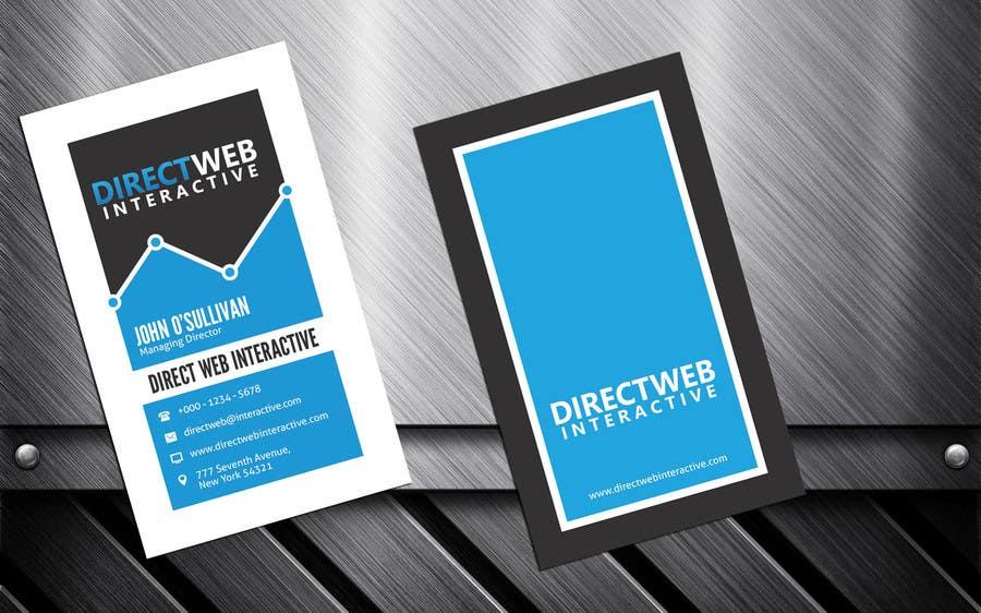 Konkurrenceindlæg #                                        28                                      for                                         Design Business Card For Marketing Agency