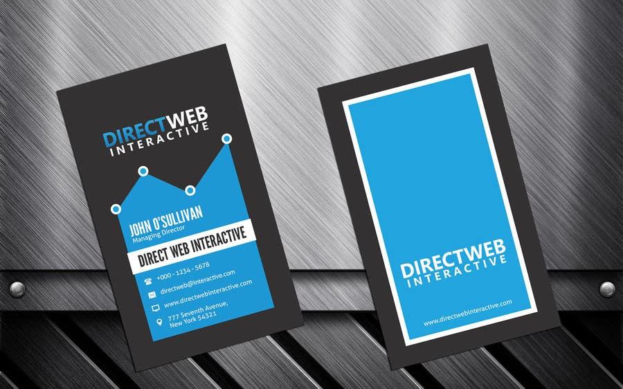 Konkurrenceindlæg #31 for Design Business Card For Marketing Agency