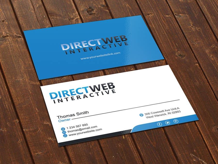 Konkurrenceindlæg #                                        27                                      for                                         Design Business Card For Marketing Agency