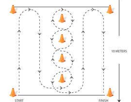 #7 for Agility Drill diagramming af Kaloi