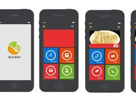Nro 82 kilpailuun Design an App Mockup for DesiDiet käyttäjältä apurvajain