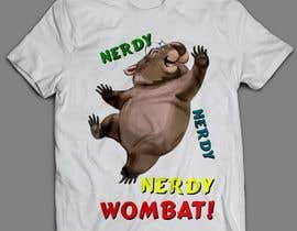 #8 for Design Wombat T-Shirt af sandrasreckovic