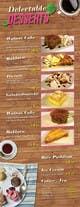 Konkurrenceindlæg #                                                7                                              billede for                                                 Design a Dessert Menu for Mykonos Greek Restautant