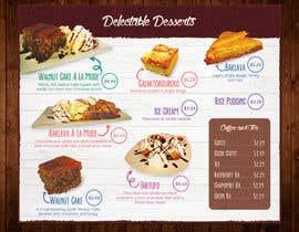 #5 for Design a Dessert Menu for Mykonos Greek Restautant af VrushaliSingh