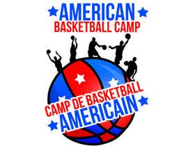 Fegarx tarafından Design a Logo for Basketball Camp in Paris, France için no 7