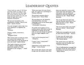manhal7 tarafından leadership quotes by leaders prior to the 1900(20th century) için no 9