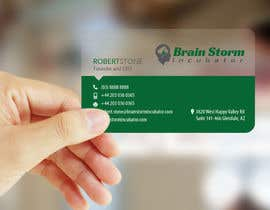 #49 para Design some Business Cards for BrainStorm Incubator por logosuit