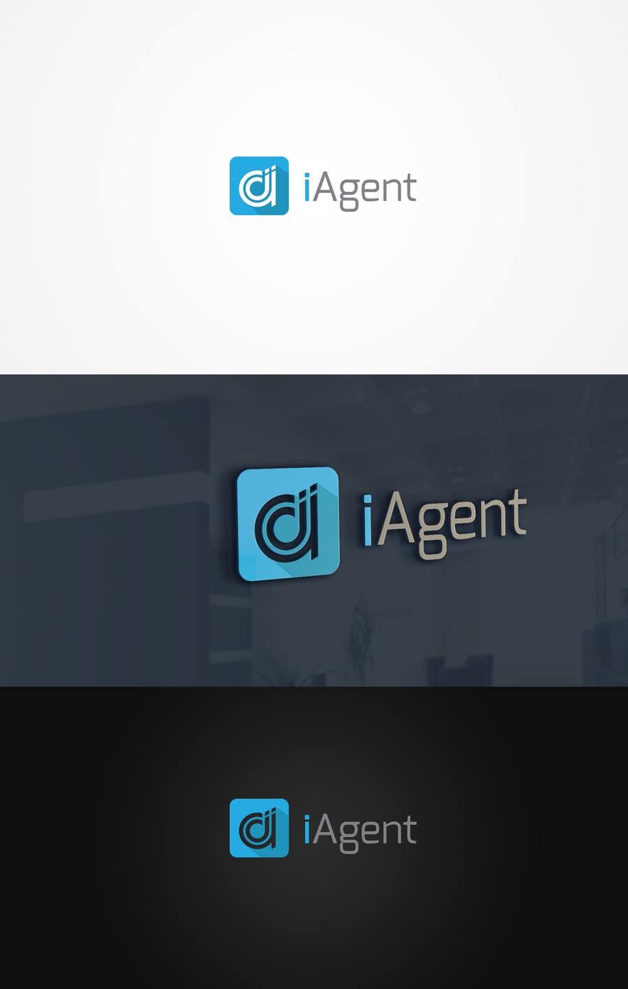 Kilpailutyö #117 kilpailussa Logo is IAgent