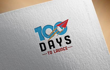 #37 for Logo Design for 100 Days to Launch af silverhand00099