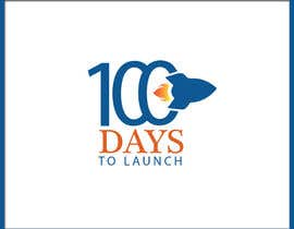 #32 for Logo Design for 100 Days to Launch by razikabdul