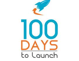 #21 para Logo Design for 100 Days to Launch por codigoccafe