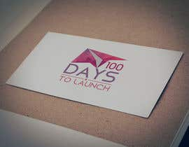 #23 para Logo Design for 100 Days to Launch por codigoccafe