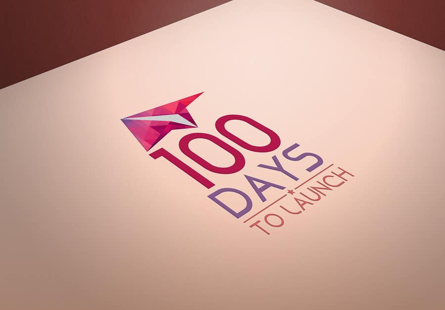 Proposition n°25 du concours Logo Design for 100 Days to Launch
