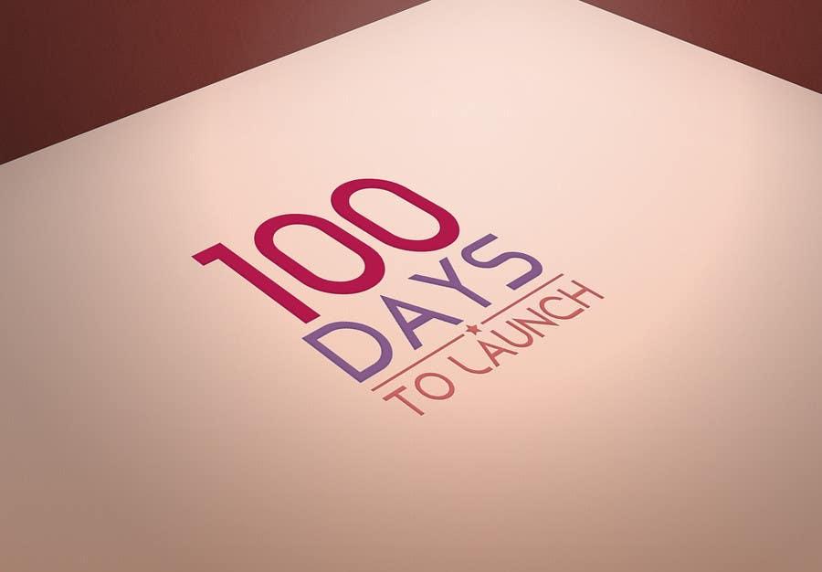 Konkurrenceindlæg #                                        26                                      for                                         Logo Design for 100 Days to Launch