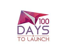#56 para Logo Design for 100 Days to Launch por codigoccafe