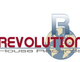 alidicera tarafından Design a Logo for Revolution House Records için no 133