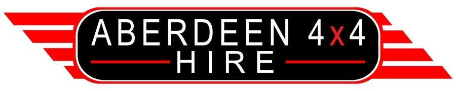 Proposition n°                                        18                                      du concours                                         Design a Logo for Aberdeen 4x4 Hire