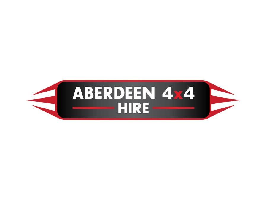 Proposition n°                                        10                                      du concours                                         Design a Logo for Aberdeen 4x4 Hire