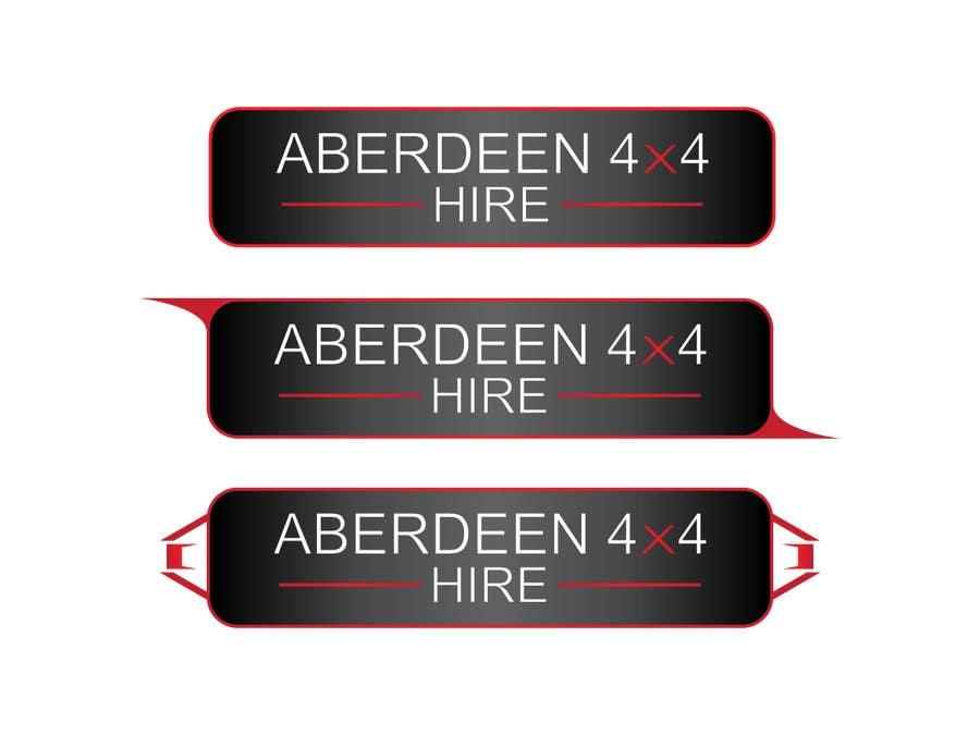 Konkurrenceindlæg #                                        19                                      for                                         Design a Logo for Aberdeen 4x4 Hire