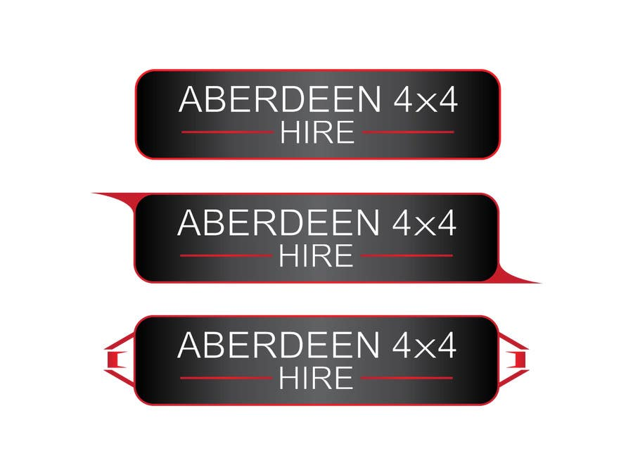 Konkurrenceindlæg #                                        22                                      for                                         Design a Logo for Aberdeen 4x4 Hire