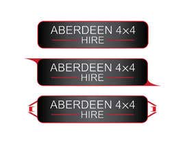 #22 for Design a Logo for Aberdeen 4x4 Hire af Dzery