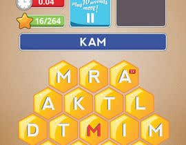 #3 untuk Alter some Images for Word Puzzle Honeycomb oleh sinemderkus