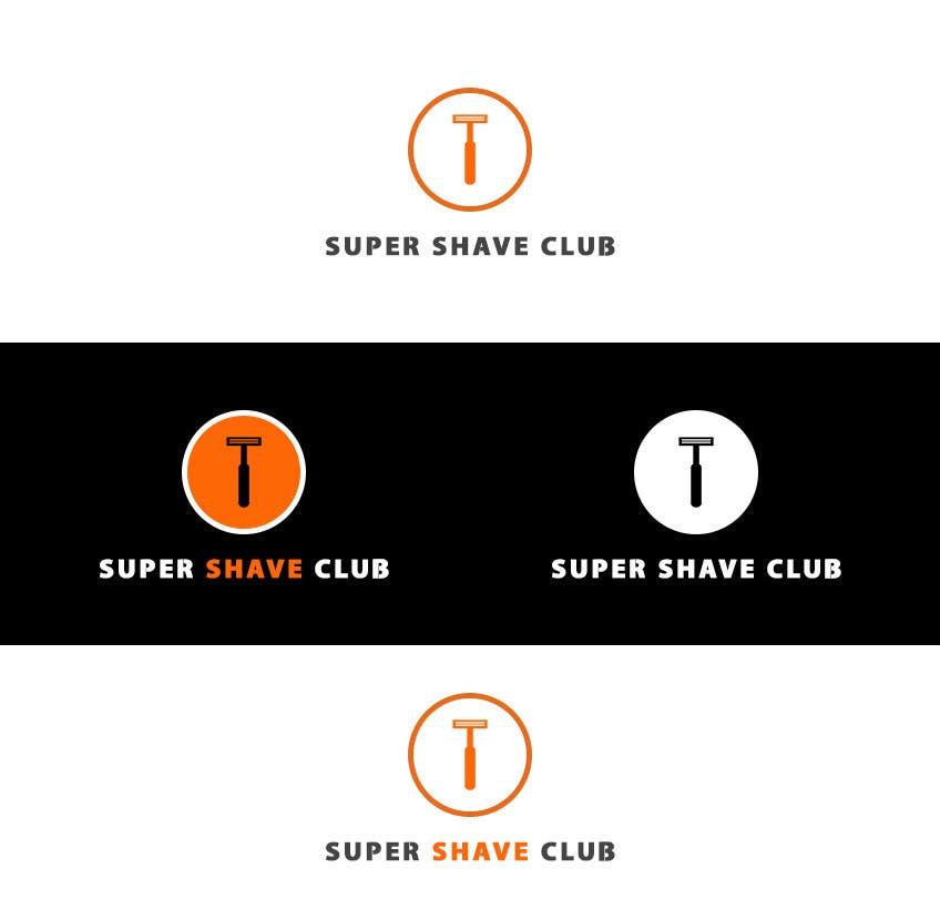 """Contest Entry #                                        26                                      for                                         Design a Logo for """"Super Shaver Club"""""""