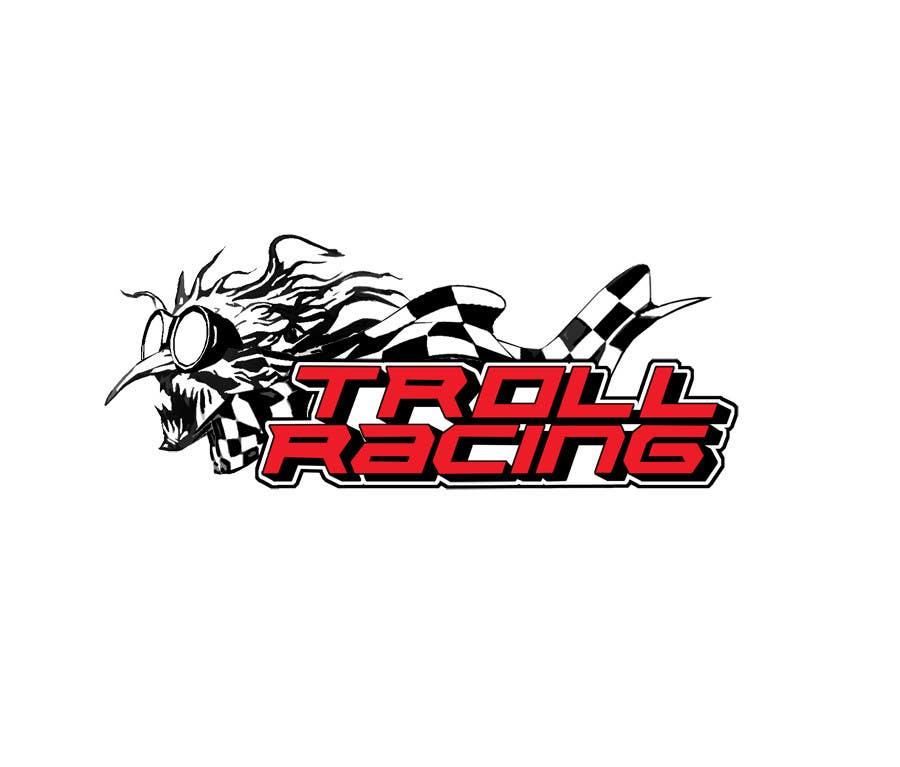 Bài tham dự cuộc thi #                                        79                                      cho                                         Troll Racing needs logo!