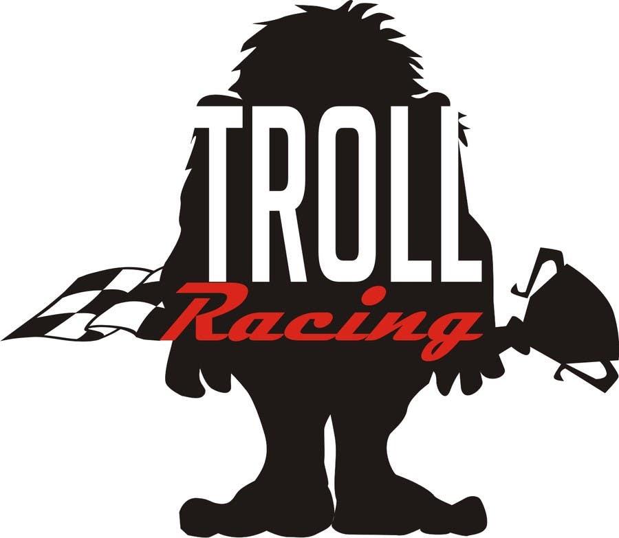Bài tham dự cuộc thi #                                        133                                      cho                                         Troll Racing needs logo!