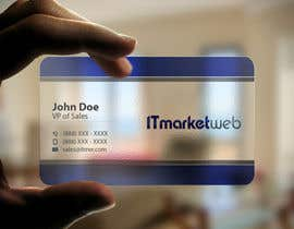 #99 untuk Design some Business Cards for IT Market oleh imtiazmahmud80