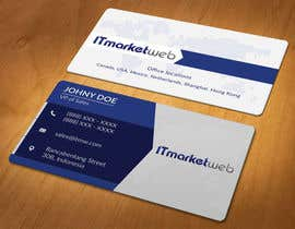 #86 untuk Design some Business Cards for IT Market oleh akhi1sl